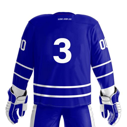 red standard hockey jersey design